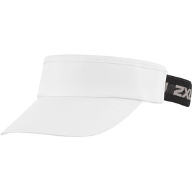 2XU Performance Zonneklep, white/black